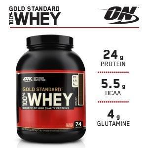 Состав питательных веществ в одной порции Сывороточный протеин 100% Whey Gold Standard, 450 гр.