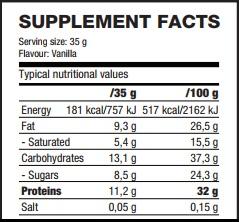 Протеиновый батончик Protein Wafer Bar SNACK QNT, 35 g