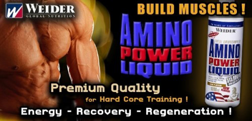 Свойства Amino Power Liquid Weider