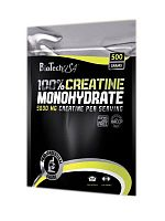 BioTech Creatine Monohydrate 100% (bag), 500 гр.
